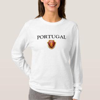 L'héritage raye la fierté W du PORTUGAL de chemise T-shirt