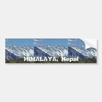 L'HIMALAYA - une de 1000 vues du NÉPAL Autocollant De Voiture