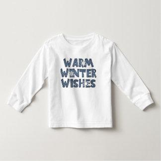 L'hiver chaud souhaite le T-shirt de vacances