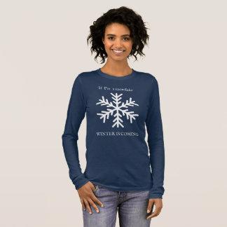 L'hiver est prochain longsleeve t-shirt à manches longues