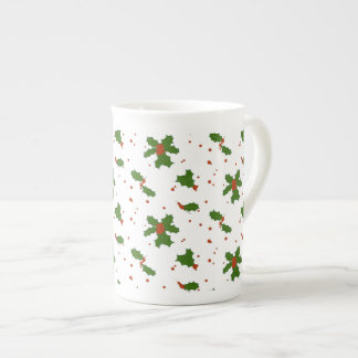 L'hiver : Porcelaine tendre heureuse de motif de Mug