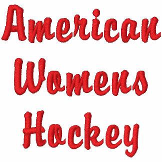 L'hockey des femmes américaines sweat-shirt à capuche