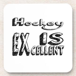 L'hockey est excellent dessous-de-verre