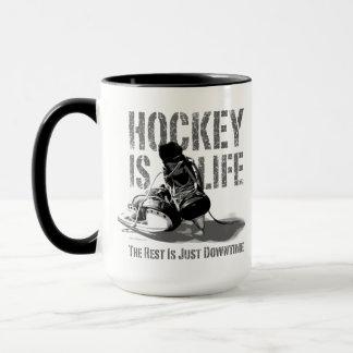 L'hockey est la vie mug