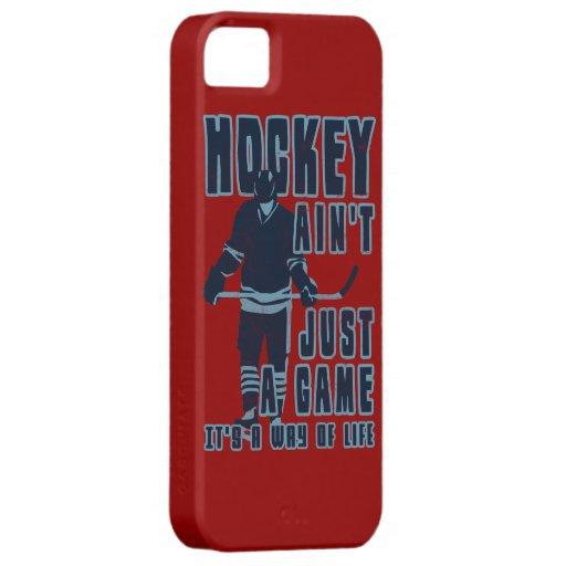 L'hockey n'est pas simplement un cas de téléphone  coque Case-Mate iPhone 5