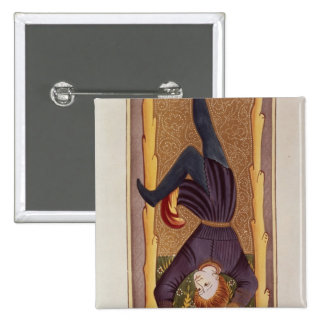 L'homme pendu, carte de tarot, française pin's