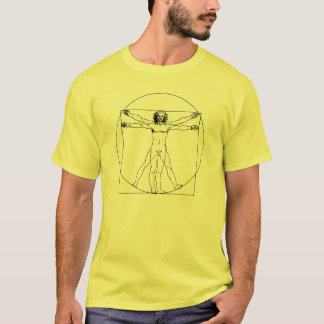 l'homme vitruvian de Da Vinci T-shirt