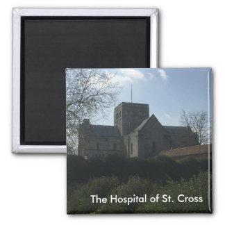 L'hôpital de la croix de St - Winchester, Magnet Carré