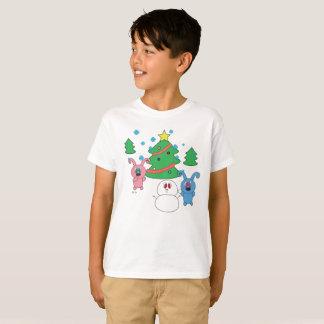 L'horaire d'hiver Rolly badine le T-shirt de