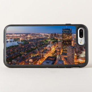 L'horizon de Boston au crépuscule Coque Otterbox Symmetry Pour iPhone 7 Plus