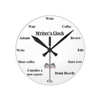 L'horloge de l'auteur horloge ronde
