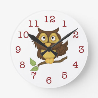 dessins de hibou horloges dessins de hibou horloges murales. Black Bedroom Furniture Sets. Home Design Ideas