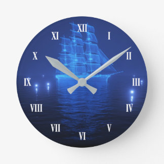 L'horloge murale de Néerlandais de vol Horloge Ronde