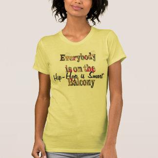 L'houblon de coup est futé tout le monde sur le t-shirts