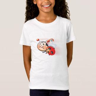 Libby la chemise de filles de coccinelle T-Shirt
