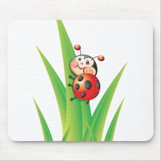 Libby la coccinelle Mousepad Tapis De Souris