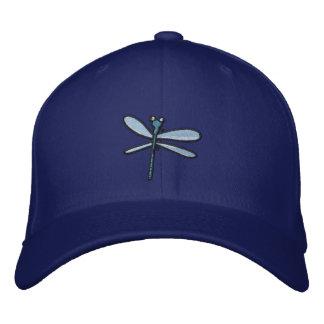 Libellule (contour noir) casquette brodée