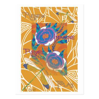 Libellules Cartes Postales