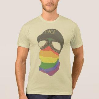 Libéral et fascisme - poly T-shirt de coton