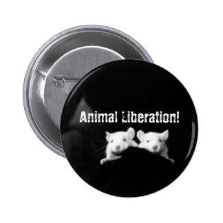 Libération animale ! badge