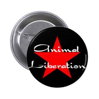 libération animale badges