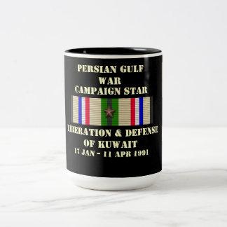 Libération et défense de campagne du Kowéit Tasse