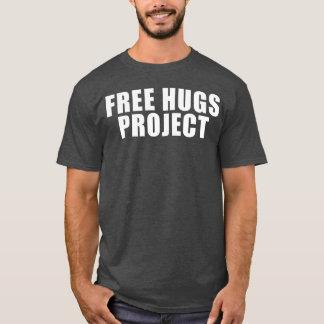 Libérez la pièce en t des textes de projet t-shirt