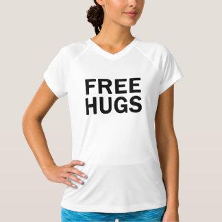 Libérez la représentation V d'étreintes - cou - T-shirt
