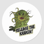 libérez le kraken adhésifs