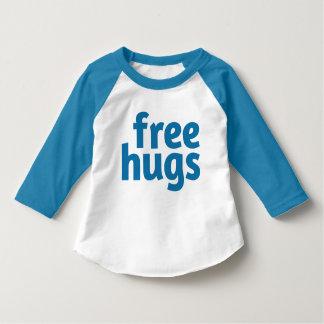Libérez le T-shirt américain de raglan