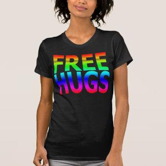 LIBÉREZ le T-shirt de l'arc-en-ciel des femmes
