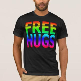 LIBÉREZ le T-shirt de l'arc-en-ciel des hommes