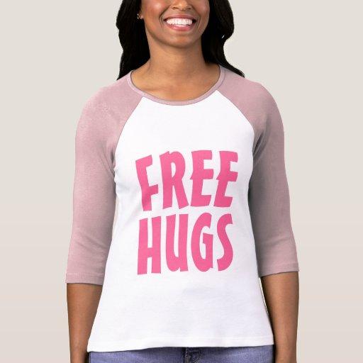 Libérez le T-shirt d'étreintes pour de grandes let