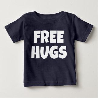 Libérez le T-shirt du Jersey d'amende de bébé