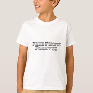 Libérez le téléphone pour toujours - de base t-shirts