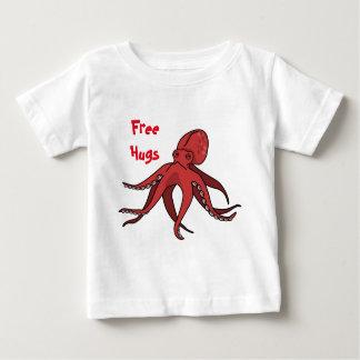 Libérez les étreintes d'un poulpe ! t-shirt pour bébé