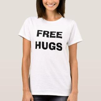 Libérez les étreintes et les baisers t-shirt