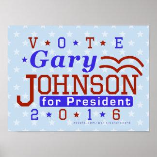Libertaire 2016 de président élection de Gary Poster
