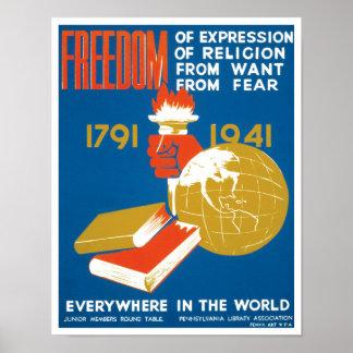 Liberté d expression poster