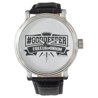 Liberté de #Goddeeper dans lui la montre vintage Montres