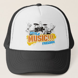 Liberté de musique de style casquette