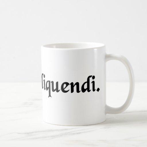 Liberté de parler mugs à café