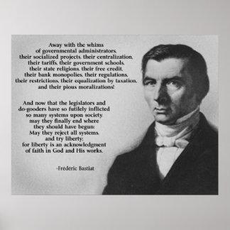 Liberté d'essai de Frederic Bastiat Posters