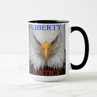 Liberté et justice mug