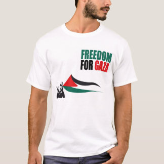 Liberté pour le T-shirt de Gaza