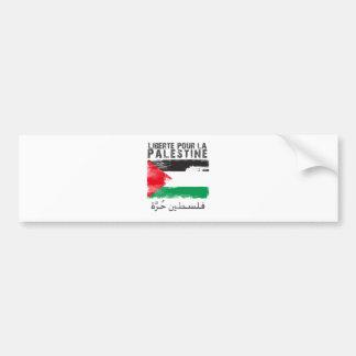 Liberté versent la La Palestine (le hurra de filis Autocollant De Voiture