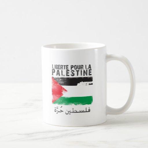 Liberté versent la La Palestine (le hurra de filis Tasse À Café