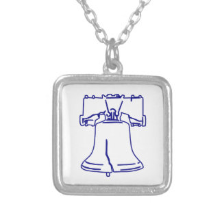 Liberty Bell bleu Collier
