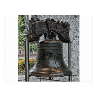 Liberty Bell Carte Postale