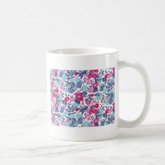 Liberty fleur personnalisable prénom mug